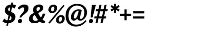 Orbi Sans Black Italic Font OTHER CHARS
