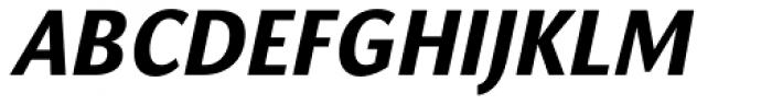Orbi Sans Black Italic Font UPPERCASE