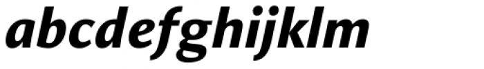 Orbi Sans Black Italic Font LOWERCASE