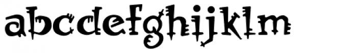 Orbus Font LOWERCASE
