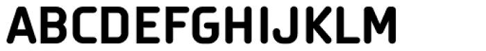 Orca Pro Bold Font UPPERCASE