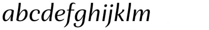 Orchidea Pro Italic Font LOWERCASE