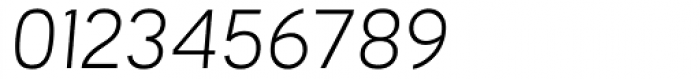 Orcin Sans Light Italic Font OTHER CHARS
