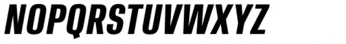 Ordax Bold Italic Font UPPERCASE
