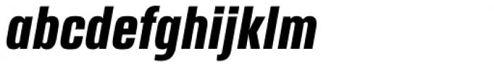 Ordax Bold Italic Font LOWERCASE