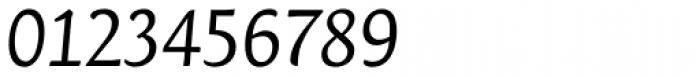 Orenga Book Italic Font OTHER CHARS