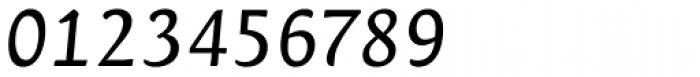 Orenga Medium Italic Font OTHER CHARS