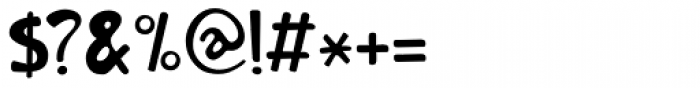 Orenji Font OTHER CHARS