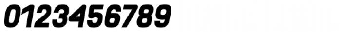 Orev Black Italic Font OTHER CHARS