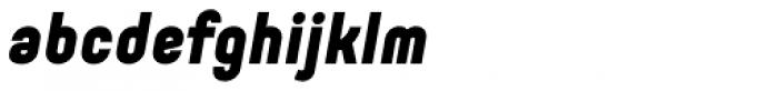 Orev Black Italic Font LOWERCASE