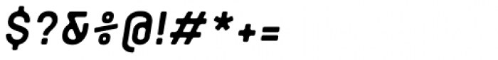 Orev Edge Bold Italic Font OTHER CHARS