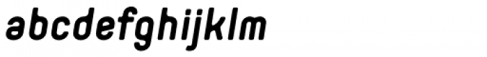 Orev Edge Bold Italic Font LOWERCASE