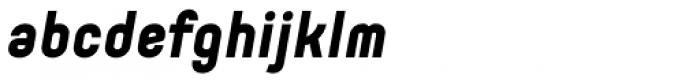 Orev ExtraBold Italic Font LOWERCASE