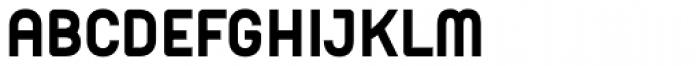 Orev ExtraBold Font UPPERCASE