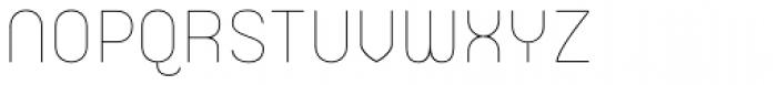Orev ExtraLight Font UPPERCASE