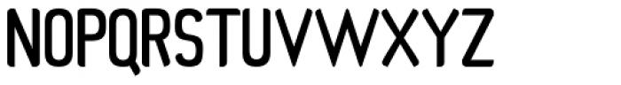 Organic Space Medium Font UPPERCASE