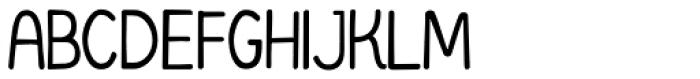 Organico Font UPPERCASE