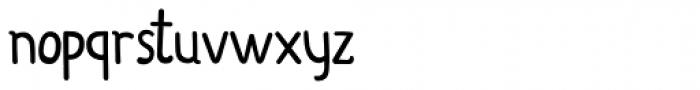 Organico Font LOWERCASE