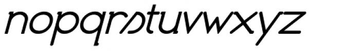 Organicon Italic Font LOWERCASE