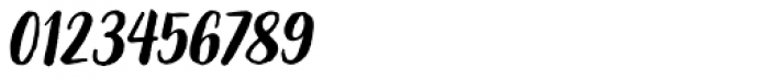 Organika Sans Italic Font OTHER CHARS