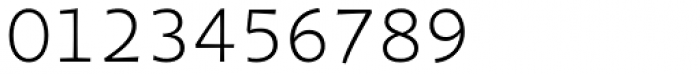 Organon Sans Light Font OTHER CHARS