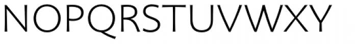 Organon Sans Light Font UPPERCASE