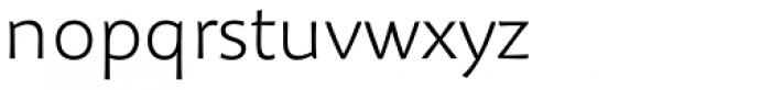 Organon Sans Light Font LOWERCASE