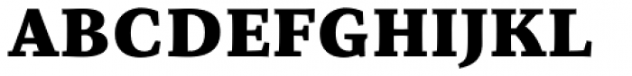 Organon Serif Black Font UPPERCASE