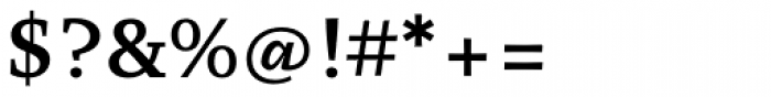 Organon Serif DemiBold Font OTHER CHARS
