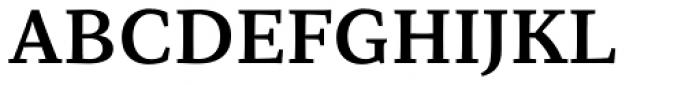 Organon Serif DemiBold Font UPPERCASE