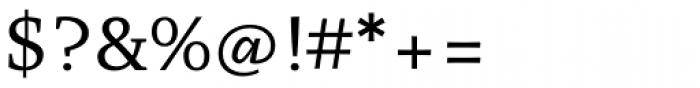 Organon Serif Regular Font OTHER CHARS