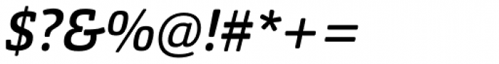 Orgon Slab Medium Italic Font OTHER CHARS