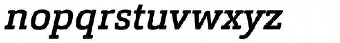 Orgon Slab Medium Italic Font LOWERCASE
