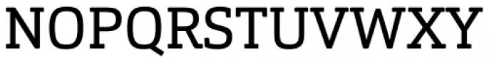 Orgon Slab Regular Font UPPERCASE