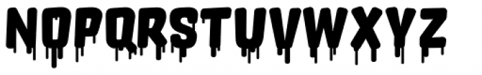 Orgovan Fat Cap Font LOWERCASE