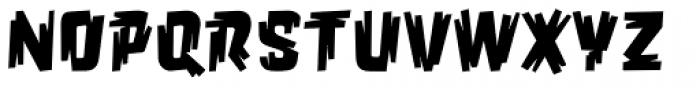 Orgovan Punk Font UPPERCASE