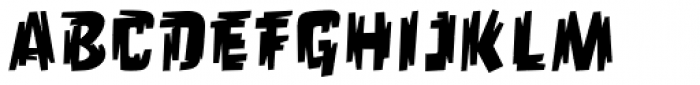 Orgovan Punk Font LOWERCASE