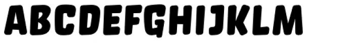 Orgovan Rounded Font LOWERCASE
