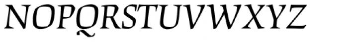 Origami Std Italic Font UPPERCASE