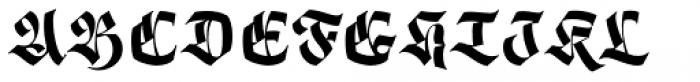 Origen Bold Font UPPERCASE