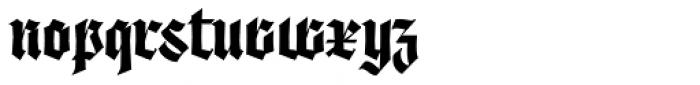 Origen Bold Font LOWERCASE