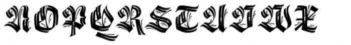 Origen Capitals Font UPPERCASE