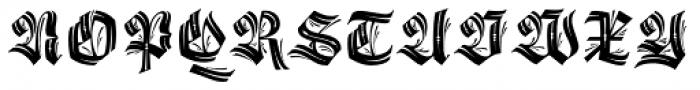 Origen Capitals Font LOWERCASE