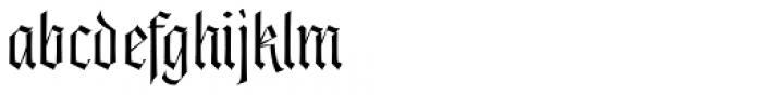 Origen Light Font LOWERCASE