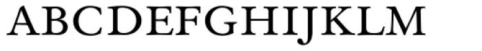 Original Garamond BT Small Caps Font LOWERCASE