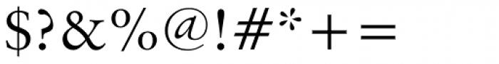 Original Garamond BT Font OTHER CHARS