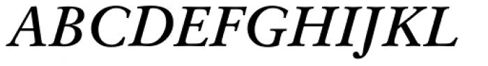 Original Garamond Bold Italic Font UPPERCASE