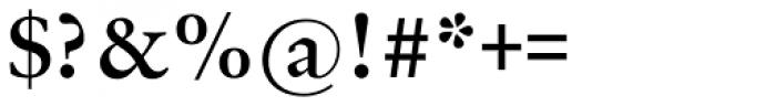 Original Garamond Bold Font OTHER CHARS