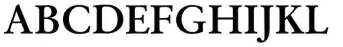 Original Garamond Bold Font UPPERCASE