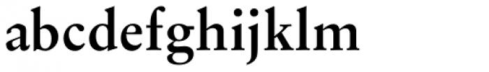 Original Garamond Bold Font LOWERCASE